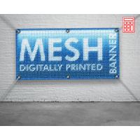 Печать на сетке баннерной (mesh)