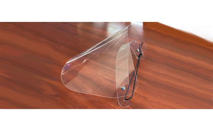 Защитный экран для лица ,  c регулировочной резиной WF