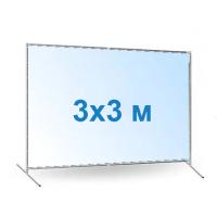 Баннер 3х3 с печатью цена за м2