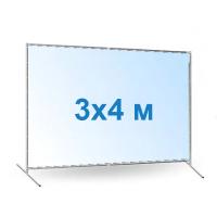 Печать баннера 3х4 цена за м2