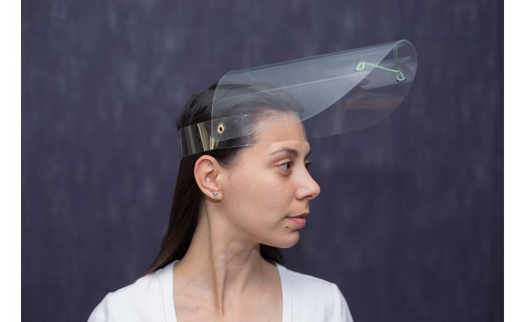 Защитный щиток для лица ,  c поворотным экраном и адаптивным размером CS-2