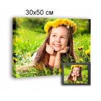 Печать фото, картин на холсте 30х50см