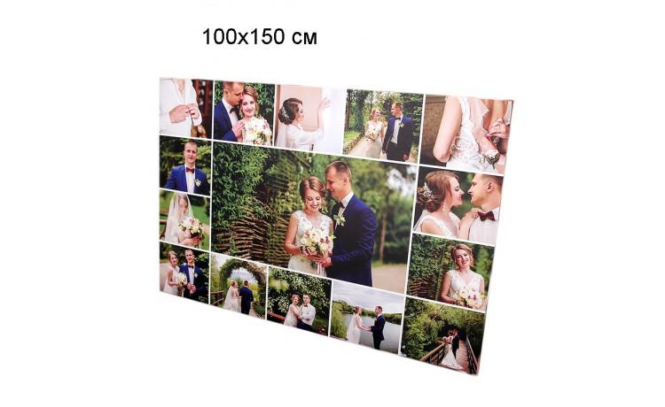 Печать фото, картин на холсте 100х150см
