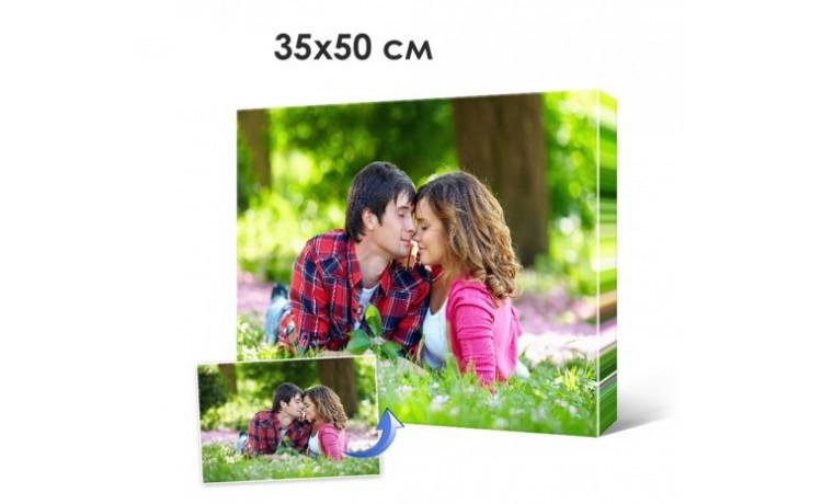 Печать фото, картин на холсте 35х50см