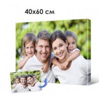 Печать фото, картин на холсте 40х60см