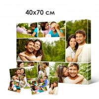Печать портретов, фото, картин на холсте 40х70см
