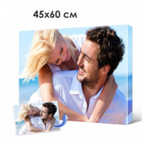 Печать фото, картин на холсте 45х60см