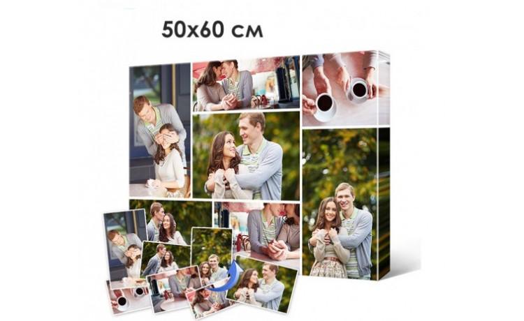 Печать фото, картин на холсте 50х60см