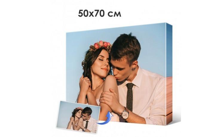 Печать фото, картин на холсте 50х70см